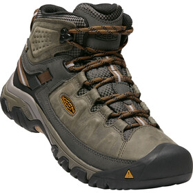 Keen Targhee III Mid WP Schoenen Heren, black olive/golden brown